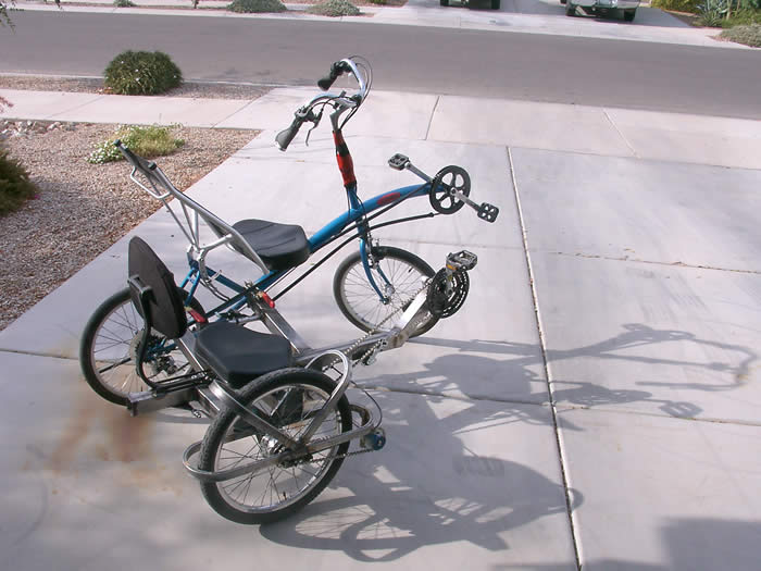 Recumbent Bike Side-hack (Sidecar)