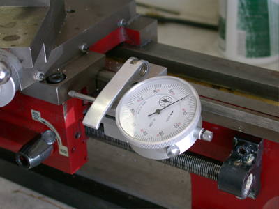 Quick release dial indicator holder